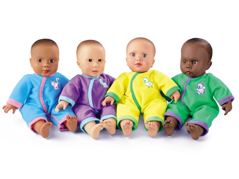 Washable dolls for toddlers